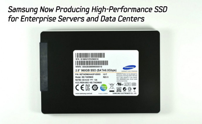 Samsung Now Producing High-Performance SSD for Enterprise Servers and Data Centers_main