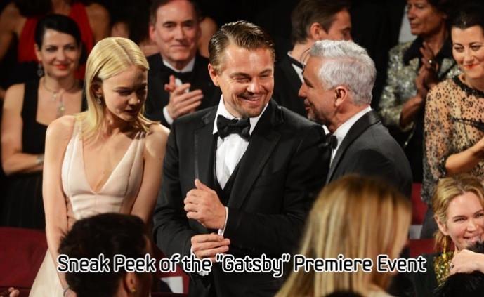 Sneak Peek of the Gatsby Premiere Event