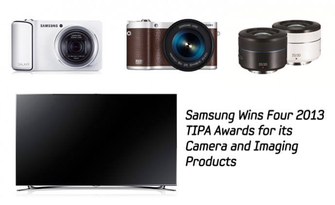 Samsung Wins Four 2013 TIPA Awards for its Camera and Imaging Products