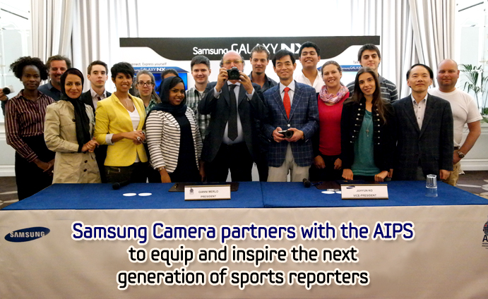 Samsung Camera partners with the AIPS to equip and inspire the next generation of sports reporters_main