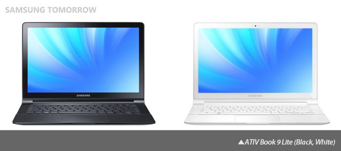 ATIV Book 9 Lite (Black, White)