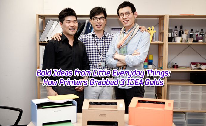 Bold Ideas from Little Everyday Things How Printers Grabbed 3 IDEA Golds_main