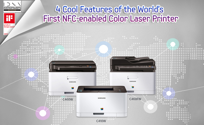 4 Cool Features of the World's First NFC-enabled Color Laser Printer