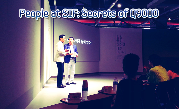 People at SIF Secretes of Q9000