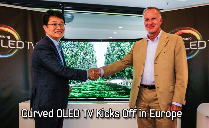 Curved OLED TV Kicks Off in Europe