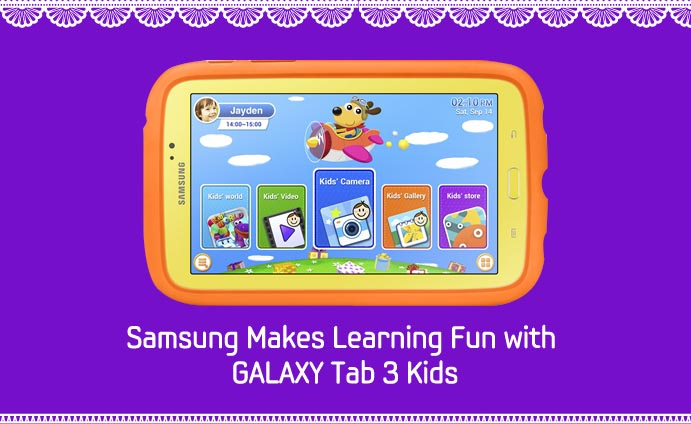 Samsung Makes Learning Fun with