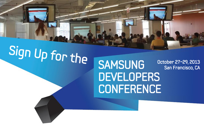 Sign Up for the First Annual Global Developers Conference!5