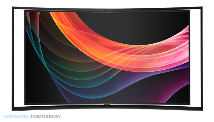 Samsung 55-inch Curved OLED TV