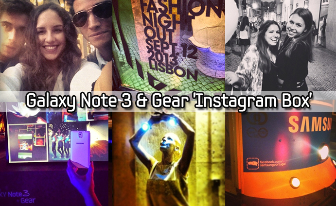 Galaxy Note 3 & Gear 'Instagram Box'