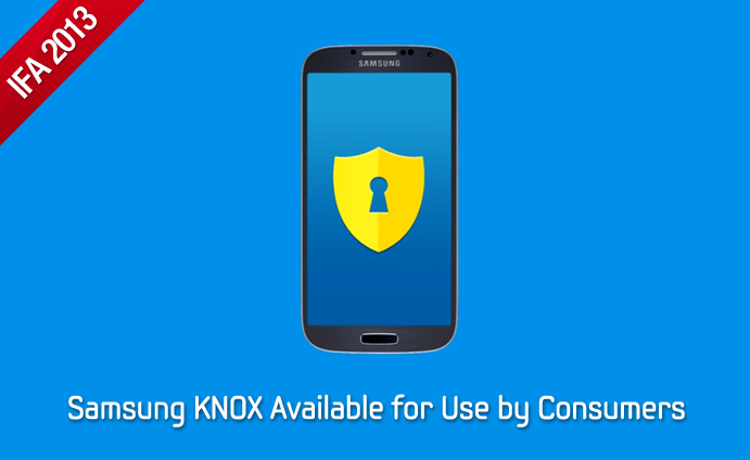 Samsung KNOX Available for Use by Consumers
