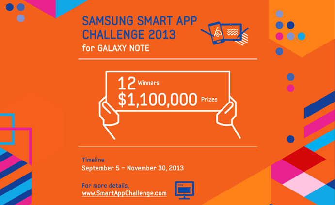 Samsung Launches 'Samsung Smart App Challenge 2013'