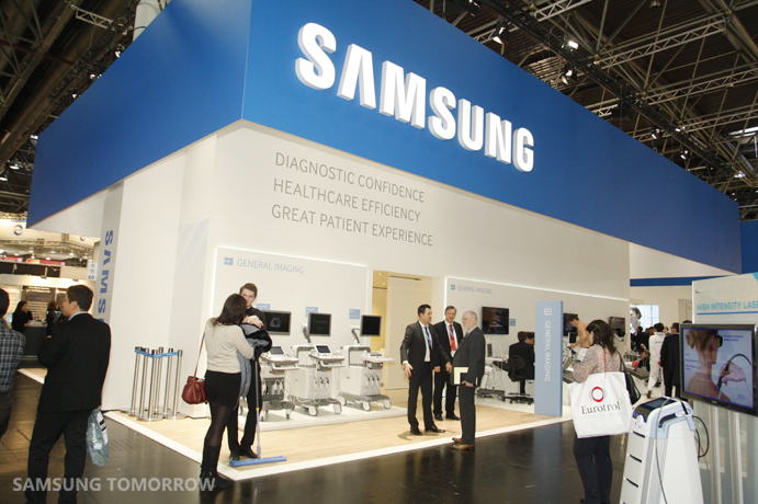 Samsung at MEDICA 2013