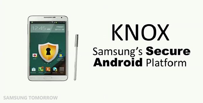 knox, samsung's secure android platform