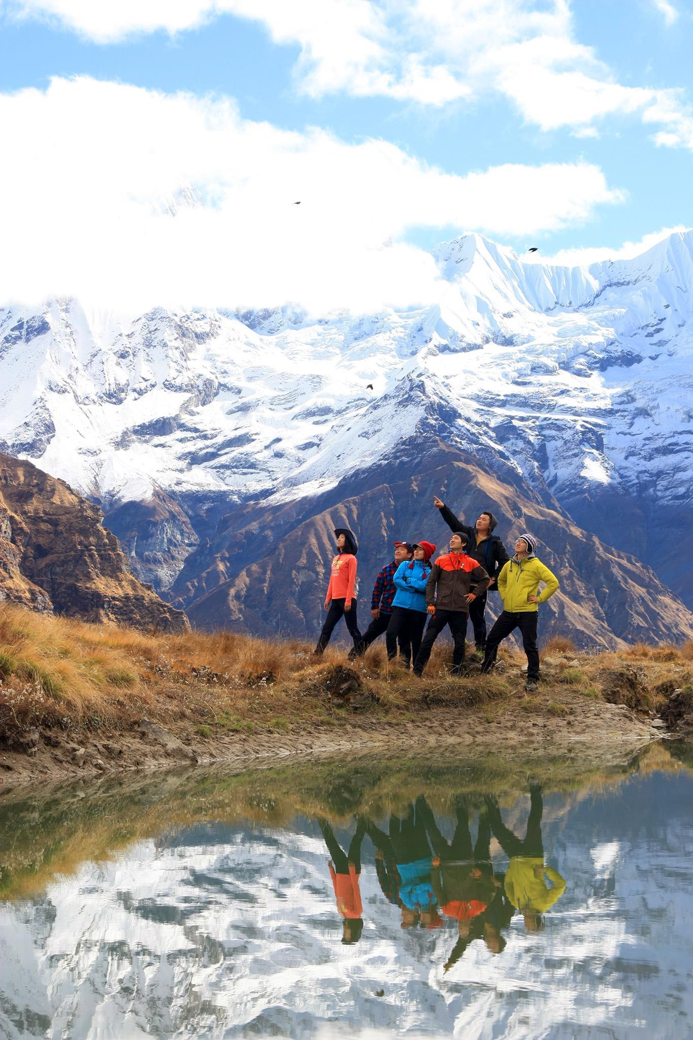 Himalayas Project Team Posing