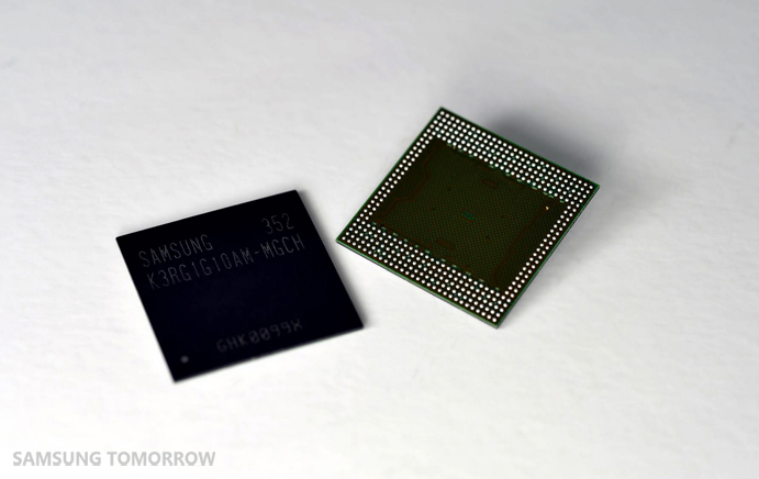Industry's First 8Gb LPDDR4 Mobile DRAM-02,메인