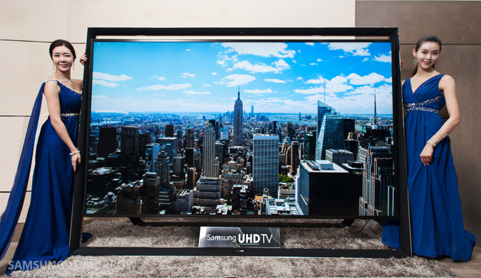 Samsung to Release the World's Biggest 110-inch UHD TV