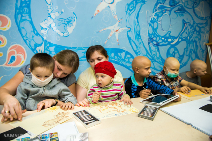 Samsung. Hope for Children and uniting Ukrainians in a fight against children's cancer