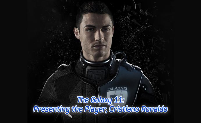 Cristiano Ronaldo se une con Lionel Messi para salvar al mundo con Galaxy 11