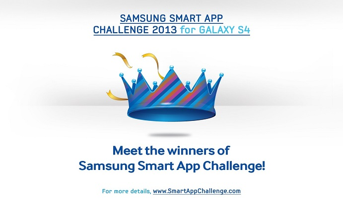 Tthe 10 Winners of Samsung Smart App Challenge 2013 for Galaxy S4 main