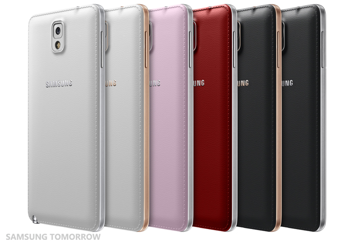 Galaxy Note 3 Line with New Color Accents