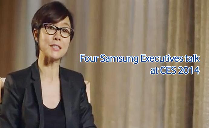 Four Samsung Executives talk at CES 2014_main