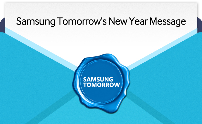 Samsung Tomorrow's New Year Message_main