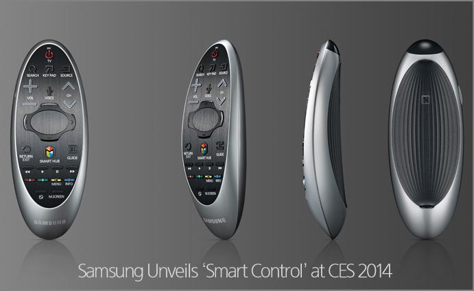 Samsung Unveils 'Smart Control' at CES 2014