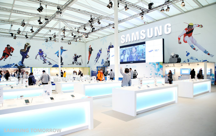 Samsung Unveils Flagship Galaxy Studio for the Sochi 2014 Olympic Winter Games