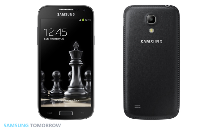 Galaxy S4 mini Front and Back view