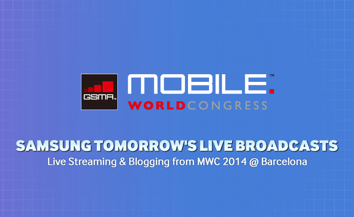 Live Streaming and Blogging from MWC 2014 @ Barcelona