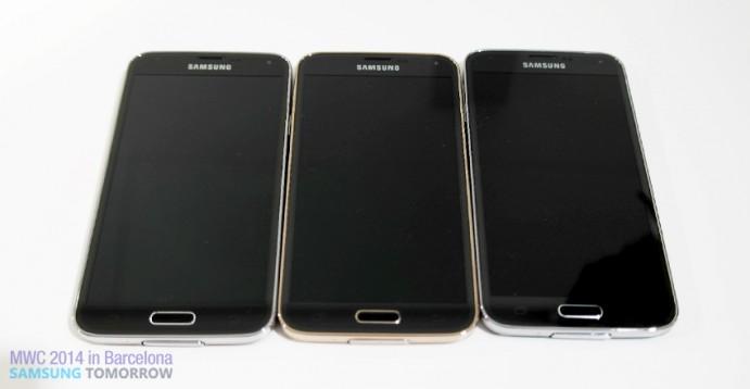 Samsung Galaxy 5 line-up