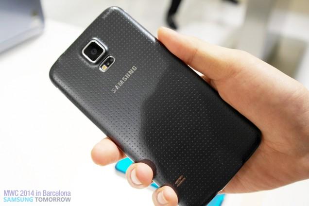 Samsung Galaxy 5_ back
