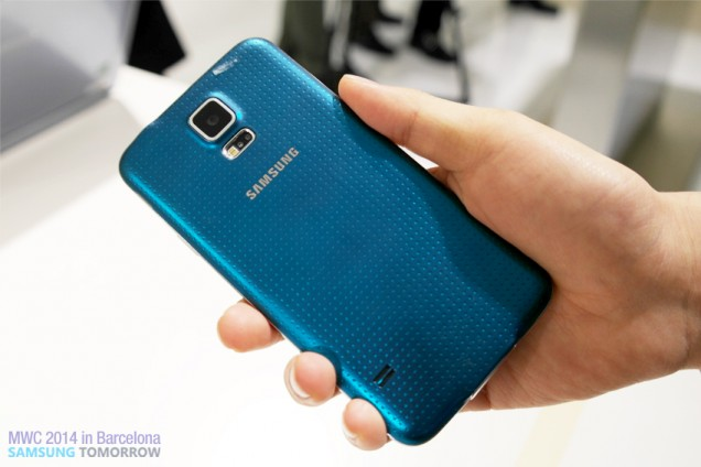 Samsung Galaxy 5_back