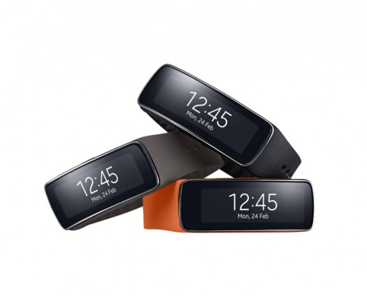 Samsung Gear Fit device