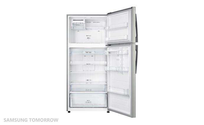 Samsung Unpacks a New Top Mounted Freezer Developed for ... Open Empty Freezer