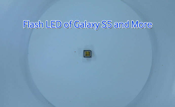 flash led of galaxy s5 and more
