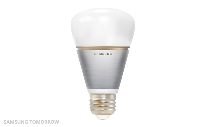 Samsung debuts new led smart bulbs at light building 2014 samsung electronics official blog Smart light bulbs