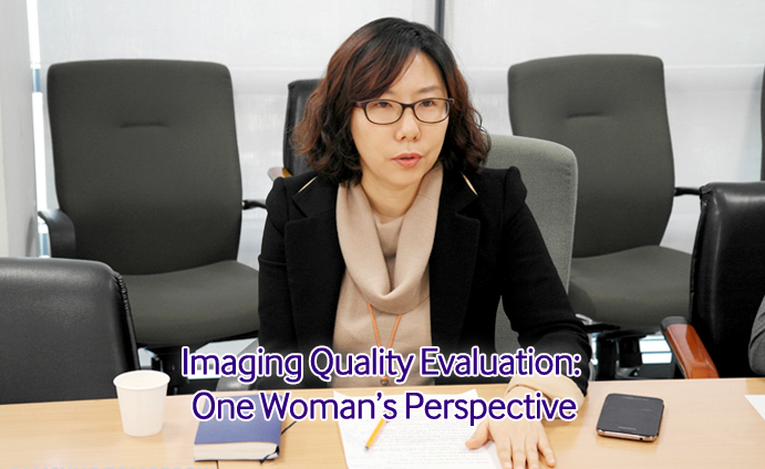 Imaging Quality Evaluation One Womans Perspective