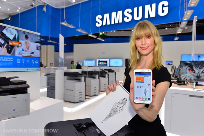 Samsung Cloud Print at the CeBIT 2014_1