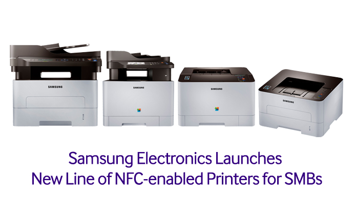 Samsung Electronics Launches New Line of NFC-enabled Printers for SMBs