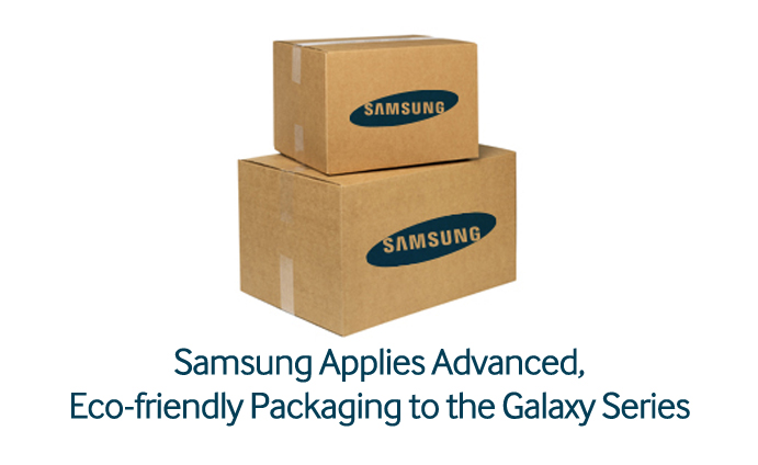 Samsung Applies Advanced, Eco-friendly Packaging to the Galaxy Series