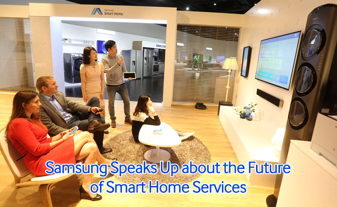 Samsung Speaks Up about the Future of Smart Home Services