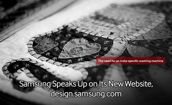 Samsung Speaks Up on Its New Website