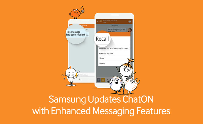 Samsung Updates ChatON with Enhanced Messaging Features