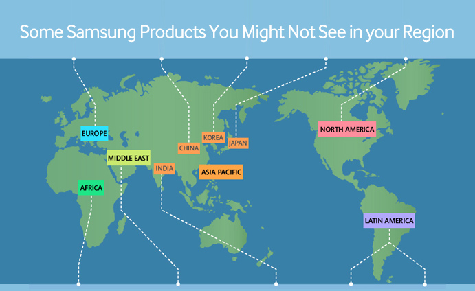 Some Samsung Products You Might Not See in your Region