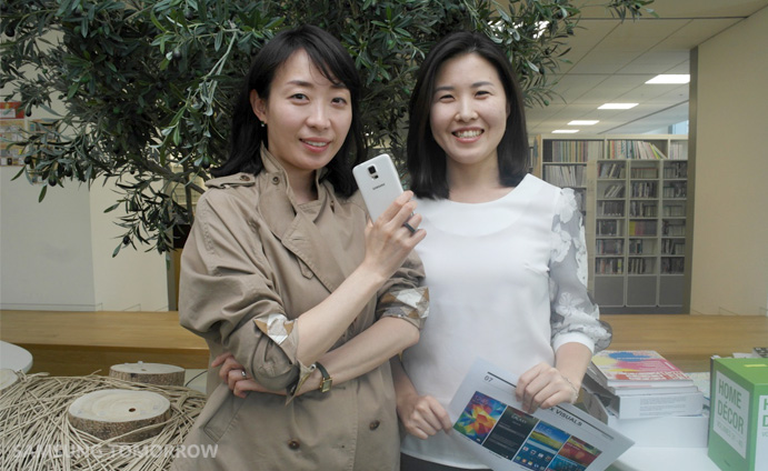 Main Designers of the Galaxy S5