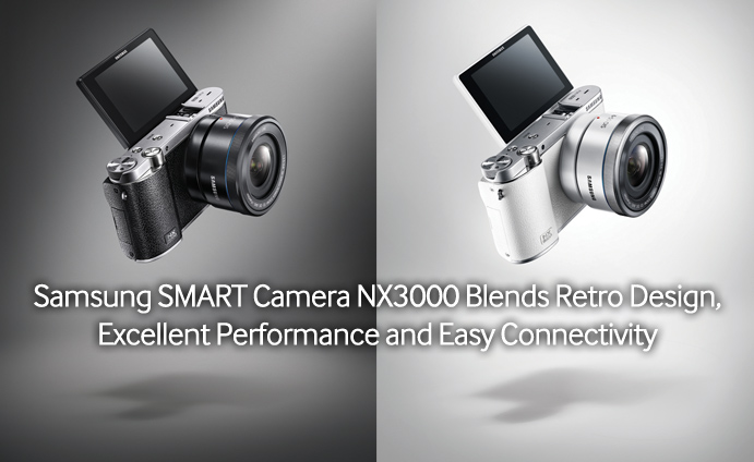 Samsung-SMART-Camera-NX3000-Blends-Retro-Design,-Excellent-Performance-and-Easy-Connectivity
