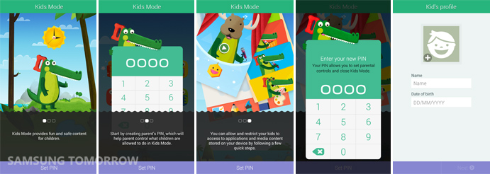 Setting Up Kids Mode and PIN on Galaxy S5