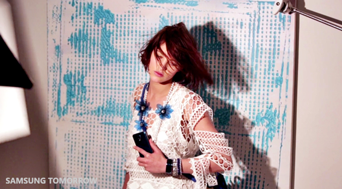 [Eliza Cummings, World Promising Fashion model_]
