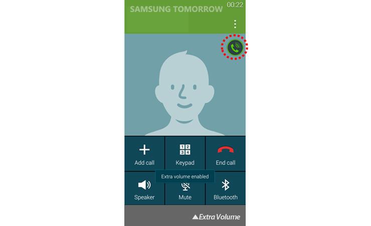 Galaxy S5 Audio: Extra Volume